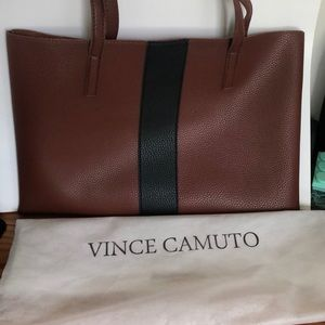 Vince Camuto leather Luck Bag/ Tote